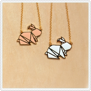 collier-bunny-origami
